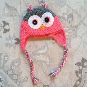 Other - Owl Beanie with Ear Flaps